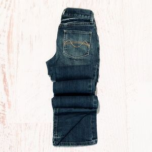 Pre- Mossimo Bootcut Distressed Stretch Jeans